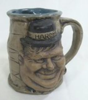 Laurel & Hardy Artist Made Mug
