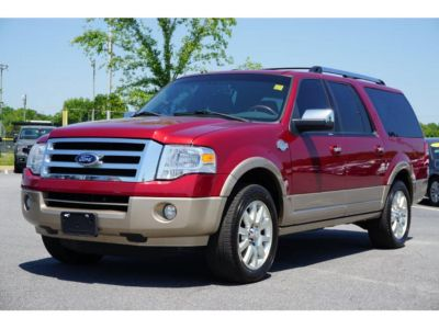 2014 Ford Expedition EL King Ranch (Ruby Red Metallic Tinted Clear Coat)