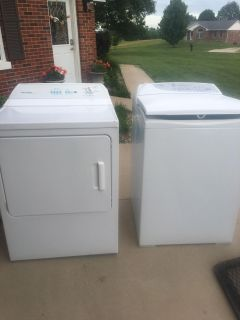 Fisher Paykel washer and dryer