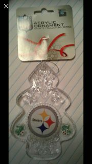 Steelers & Eagles Ornaments