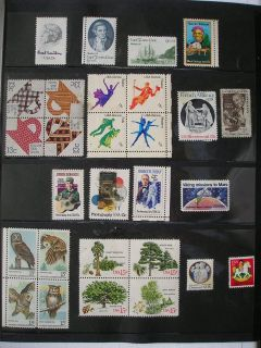 Commemorative Postage Stamps from 1978