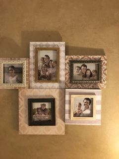 Collage Picture Frames from Kirkland $12