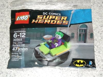 Lego #30303 The Joker Bumper Car polybag NEW