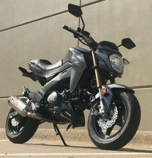 2017 Kawasaki Z125 Pro Sport Motorcycles Plano, TX
