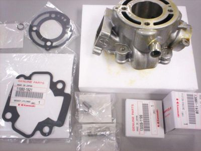 Sell NEW OEM ORIGINAL KAWASAKI KX65 CYLINDER PISTON RINGS TOP END GASKET KIT 2000-13 motorcycle in Chaplin, Connecticut, US, for US $359.99