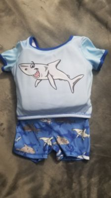 Toddler Boys Swimsuit with Built in floats