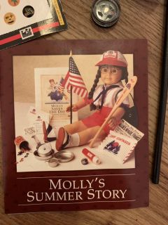 American Girl Doll Molly s Summer Story Collection