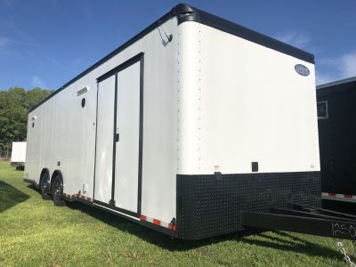 New 8.5 x 30 Continental Cargo Race Trailer&nb