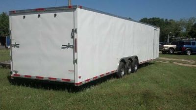 NEW 8.5x34 ENCLOSED TRAILER