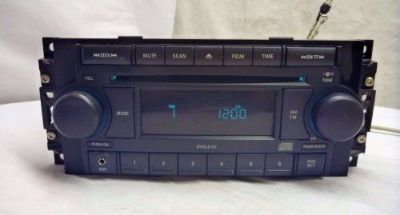 Purchase 04 05 06 07 08 09 10 Chrysler Dodge Jeep Radio Cd Aux P05064173AK BR00617 motorcycle in Williamson, Georgia, United States, for US $175.00
