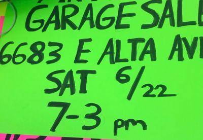 Yard sale - 6/22, 7am to 3 pm