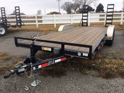 2012 PJ Trailers 5 in. Channel Carhauler (C5) Equipment Trailer Sport Utility Trailers Kansas City, KS
