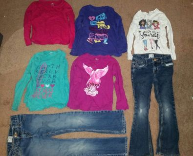 Girls size 6/6x fall winter clothing lot