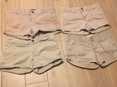 4 Women s American Eagle Shorts three are Sz 2 & one is Sz 4