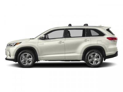 2018 Toyota Highlander Hybrid Limited Platinum (Blizzard Pearl)