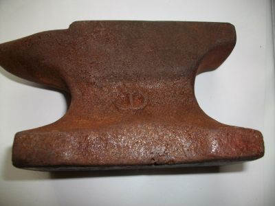John Deere minature anvil