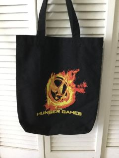 """Hunger Games Big Tote Bag 14"""" Wide x 16"""" Tall"""