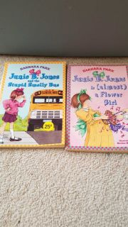 Junie B. Jones kid chapter books - set of 2