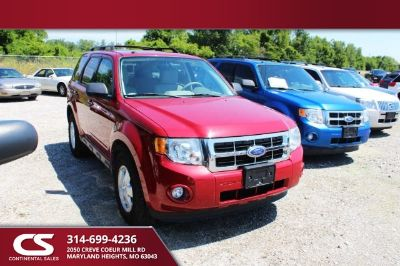 2011 Ford Escape XLT (Sangria Red Metallic - Red)