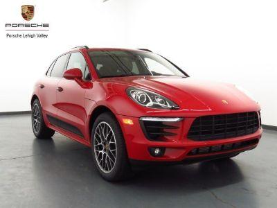 2018 Porsche Macan (Carmine Red)