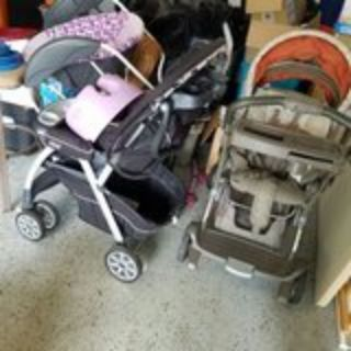 gently used baby strollers, rockers, clothing