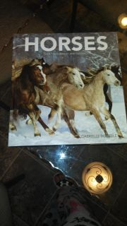 Excellent horse book, could be given as a gift. Large, sofa, hardback book