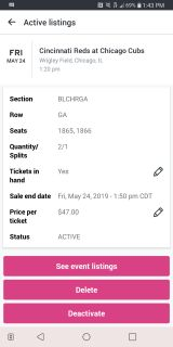 Wrigley Field Chicago Cubs Tickets