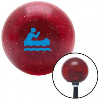 Buy Blue Marine in Canoe Red Metal Flake Shift Knob with 16mm x 1.5 Insertknob shift motorcycle in Portland, Oregon, United States, for US $29.97