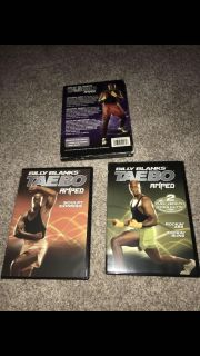 Billy Blanks Tae Bo dvd workout set