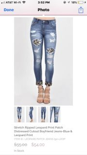 Size 26 boutique jeans from pink coconut