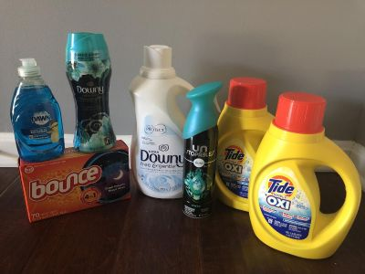 Tide and Downy laundry bundle