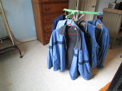 Blue jean jacket large size