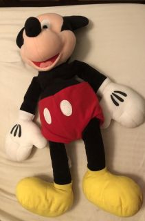 Large Stuffed Mickey Mouse and Ears