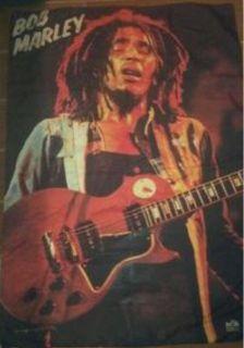 Bob Marley Fabric Poster