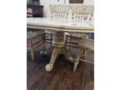 Distressed Dining table 500.00