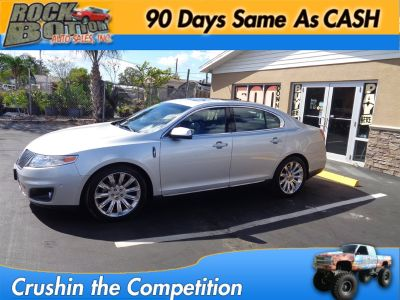 2010 Lincoln MKS EcoBoost (Silver)