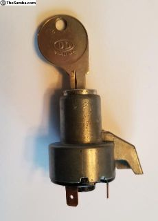 Beetle Ignition Switch W/key, 1958-1967