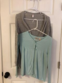 Windham - Size 12 Sweater Lot (Justice and LLBean)