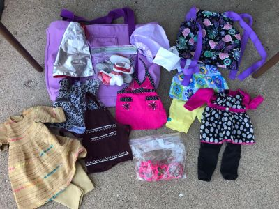 American Girl doll clothes...actual AG clothing and others that fit AG $10 for all