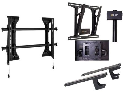 Chief Flat Panel TV Display Mount Kit With Surge Protector - New!