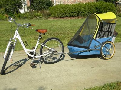 WIKEs Bike Trailer Xtra Large