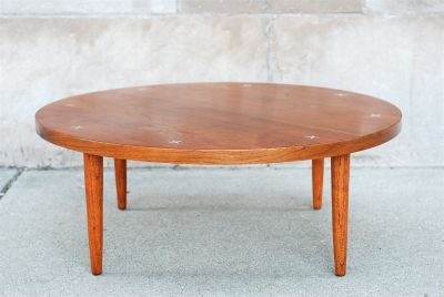 MCM American of Martinsville Round Coffee Table
