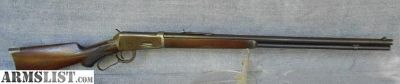 For Sale: WINCHESTER 1894 38/55 RIFLE PISTOL GRIP