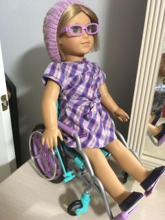 American Girl Doll in Wheelchair comes with everything I Picture