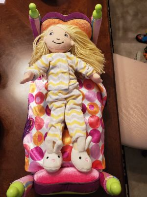 Groovy Girl Doll and Bed