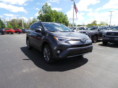 2018 Toyota RAV4 Limited (Magnetic Gray)
