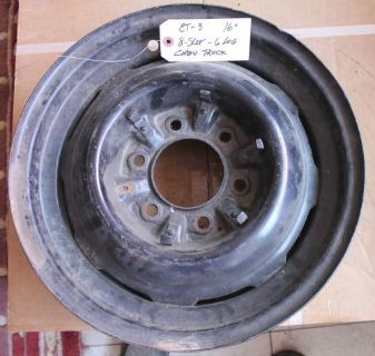 Find 1937 1939 1941 1946 1947 1950 1952 1954 Chevy TRUCK 6-lug steel wheel USED CT-3 motorcycle in San Clemente, California, United States, for US $80.00