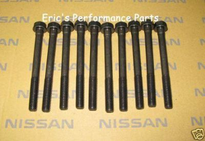 Find Nissan 12293-53J00 OEM Main Bolts & Washers Set SR20DET SR20DE SR20 S13 S14 S15 motorcycle in Azusa, California, US, for US $91.20