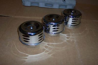 Find Air cleaners chrome for tri-power stromberg rochester motorcycle in Paragonah, Utah, United States, for US $29.90
