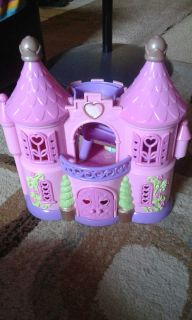 Princess castle with characters